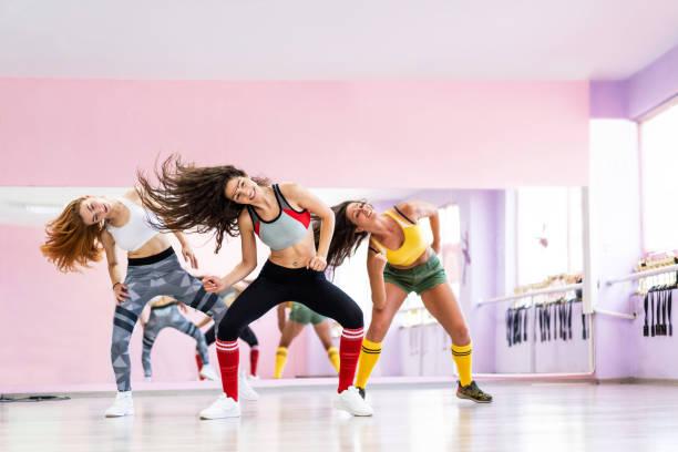 Professionelle Tänzerklasse Tanzen im Tanzstudio – Foto