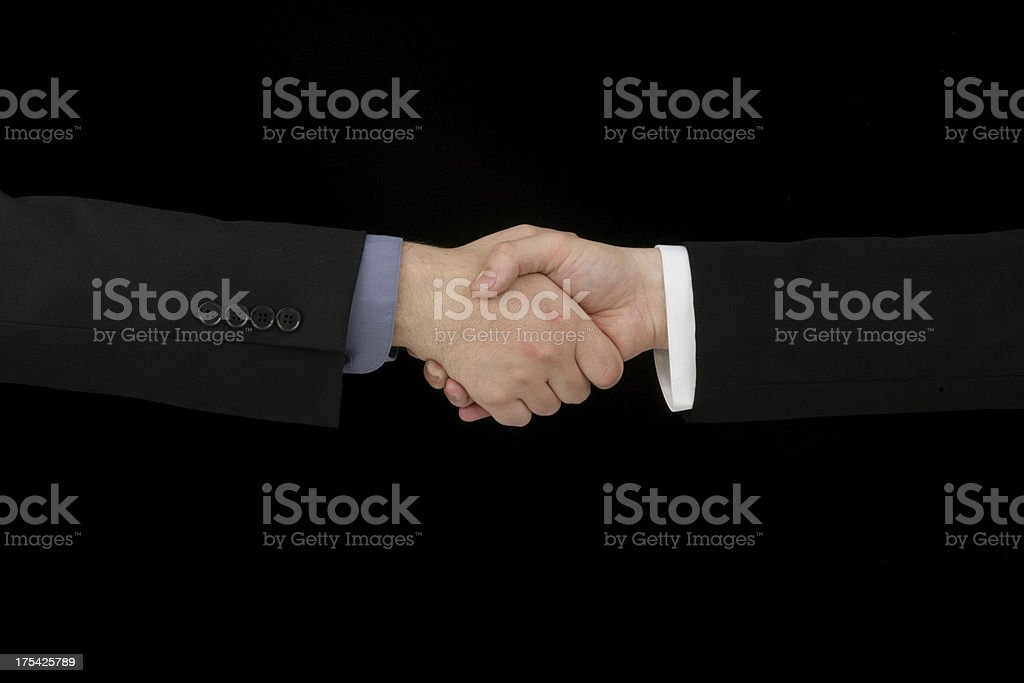 Professional Deal royalty-free stock photo