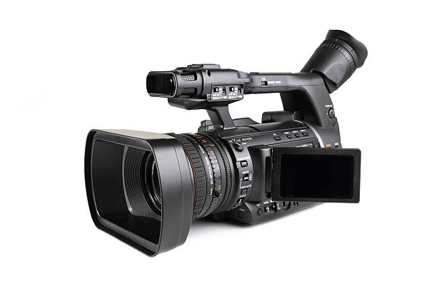 professional digital video camera - home video camera stock photos and pictures