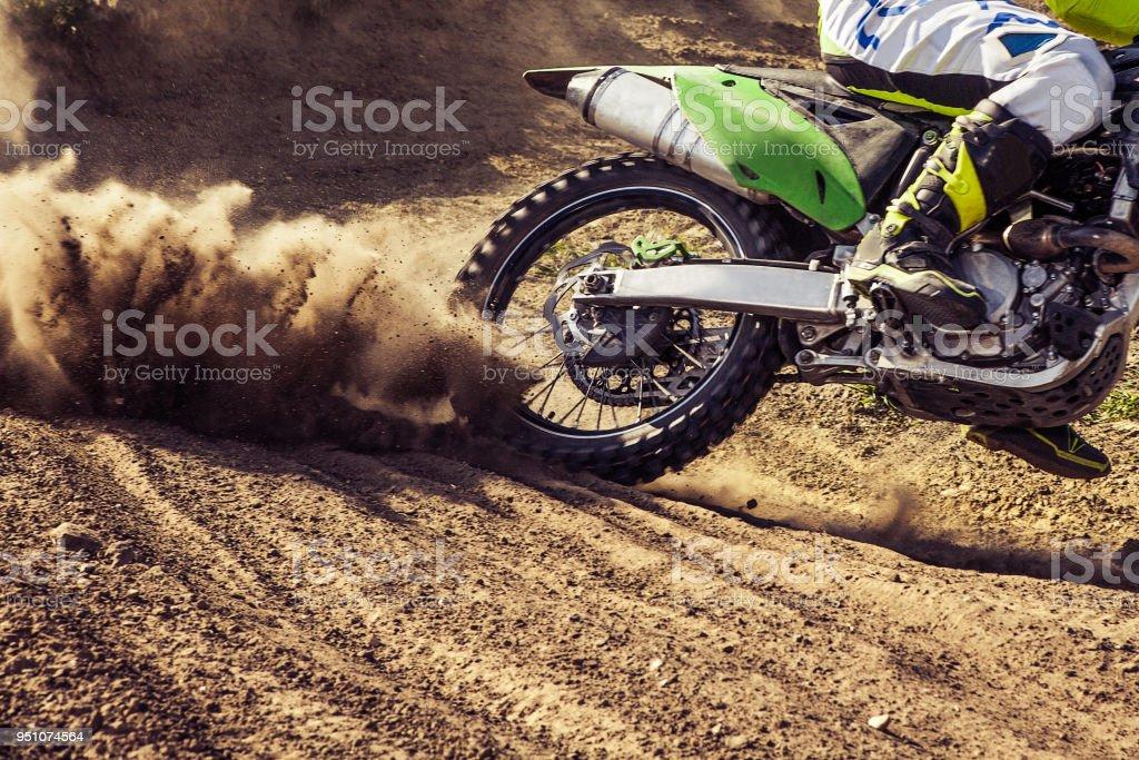 Professionelle Dirt-Bike-Fahrer – Foto