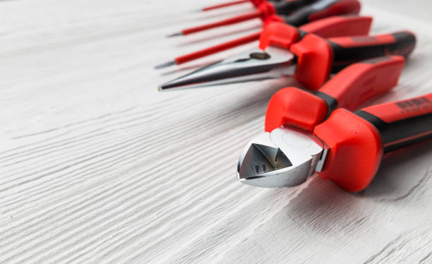 professional electrical tools - hand tool stock pictures, royalty-free photos & images