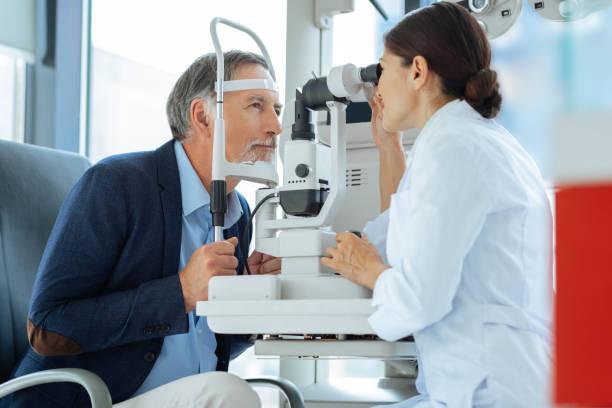 Professional eye doctor sitting opposite her patient picture id1168897088?b=1&k=6&m=1168897088&s=612x612&w=0&h=slonclu0hws0q q3zpigwhpoeiitvsudxggvybomlnw=