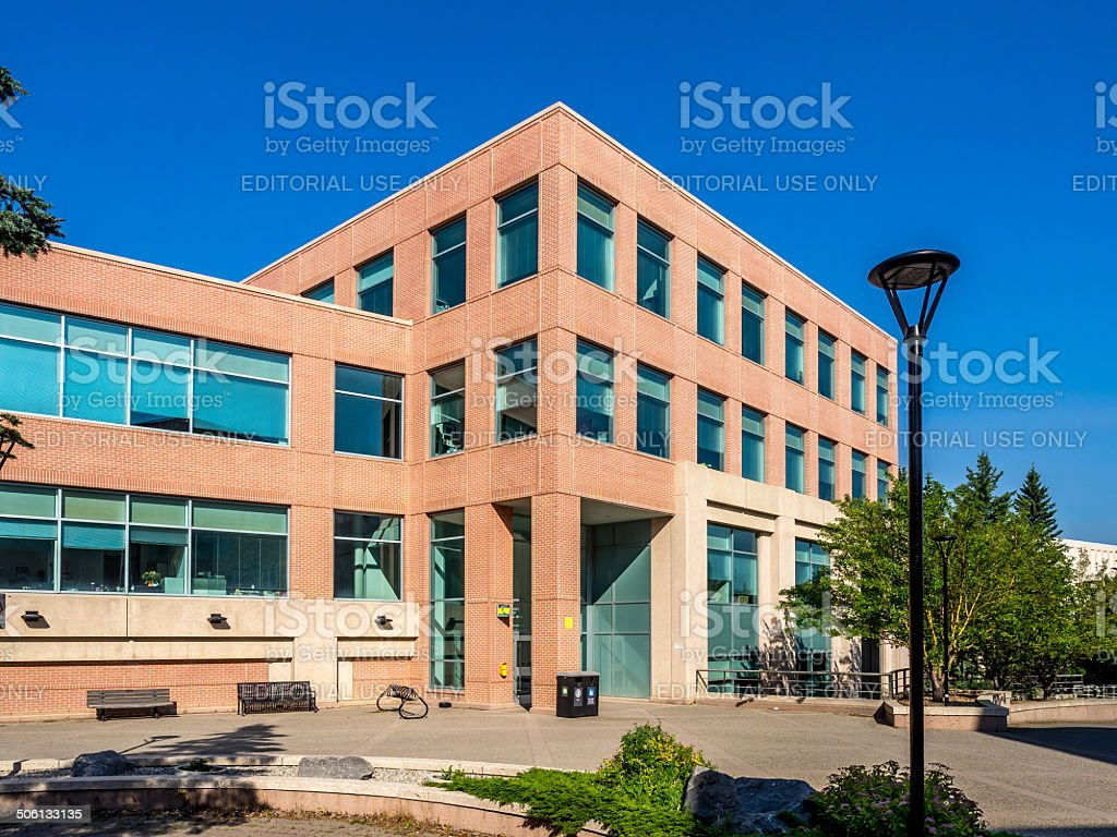 Professional Faculties building stock photo
