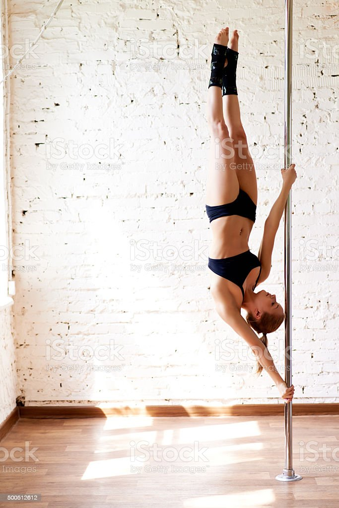 Professional female dancer stock photo
