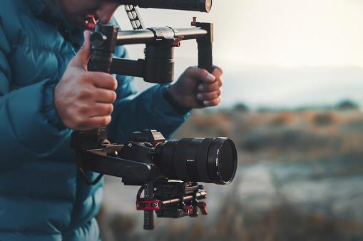Professional filming equipments at Patara