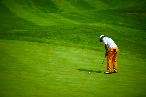Professional Golf Putting