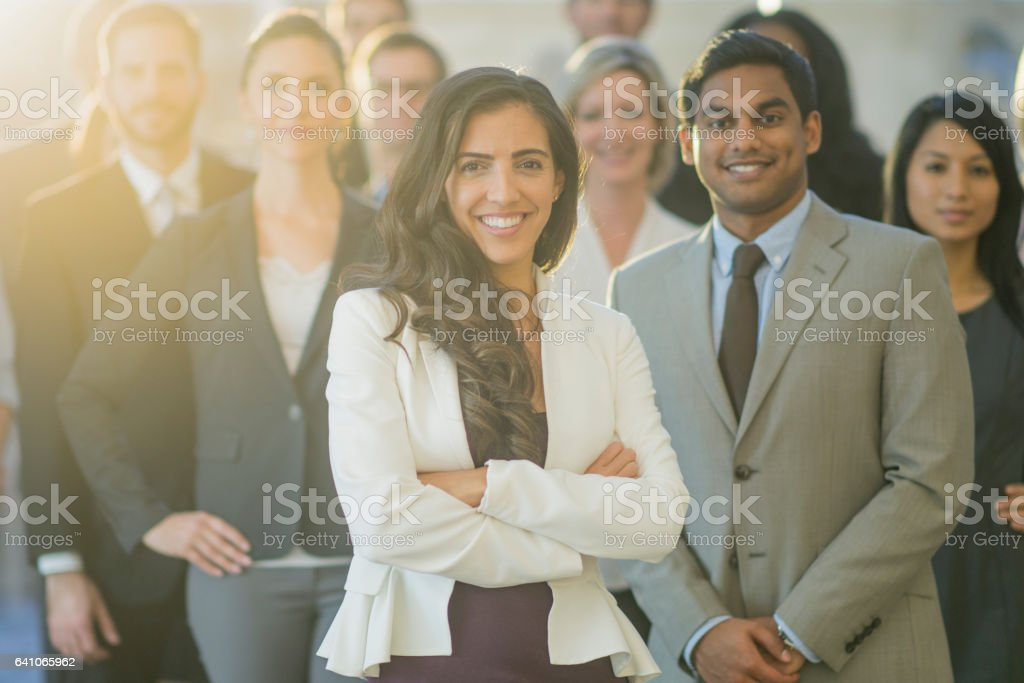 Professional Group stock photo