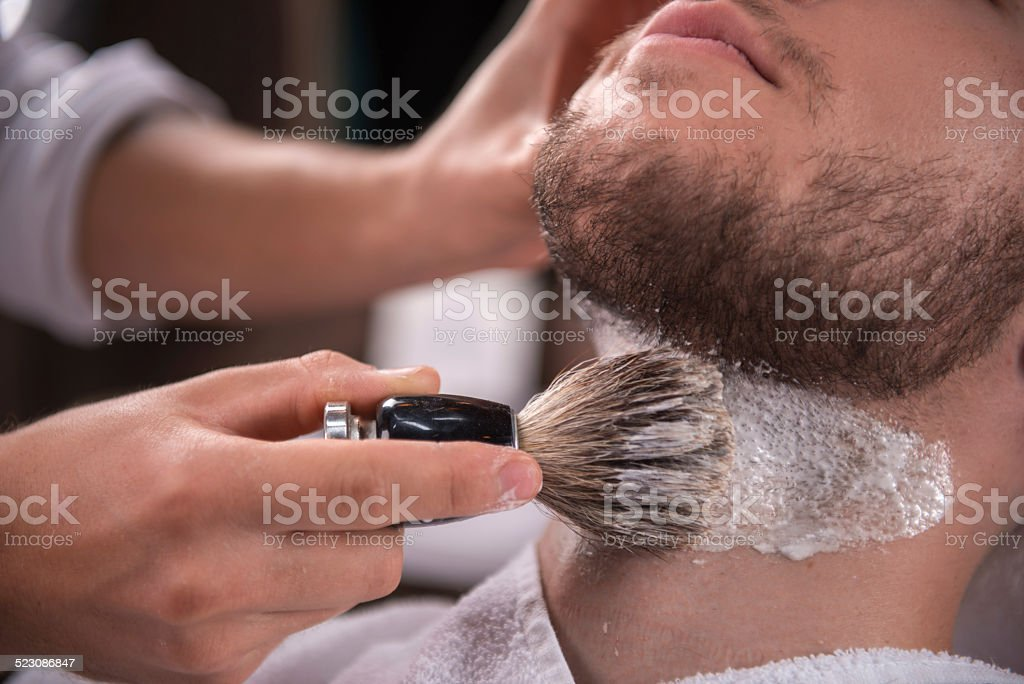 professional  hairdressing salon stock photo