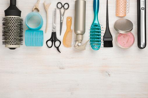Hair care stock photos
