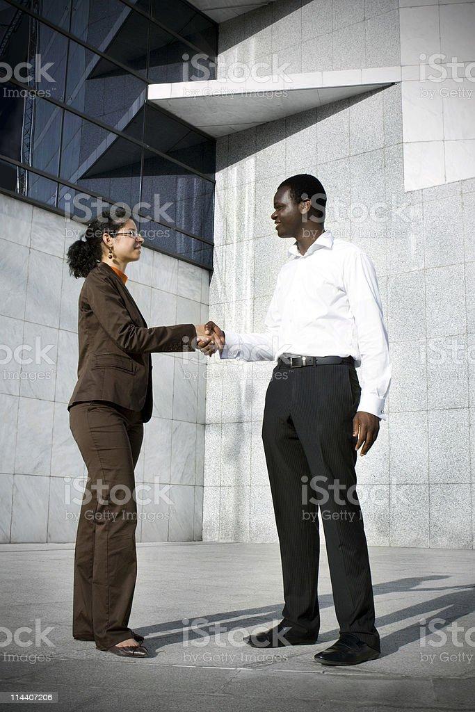 Professional Handshake stock photo