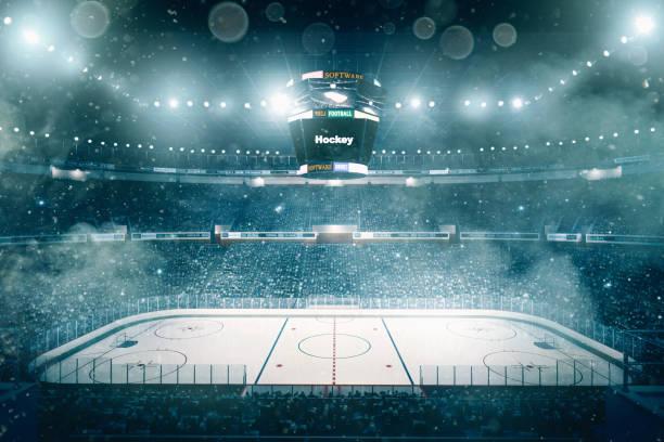 Professionelle Hockey-Arena – Foto