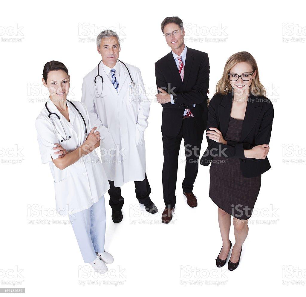 Professional Hospital Staff royalty-free stock photo