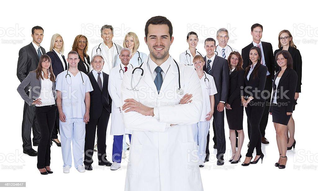 Professional Hospital Staff stock photo