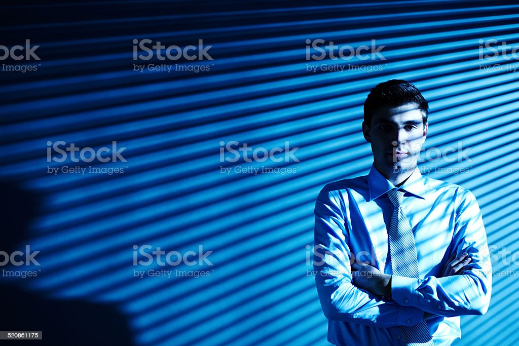Professional in business stock photo