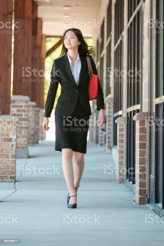 Professional Japanese Woman stock photo