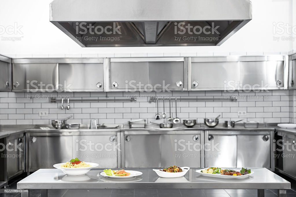 Professional kitchen stock photo more pictures of for Professional kitchen