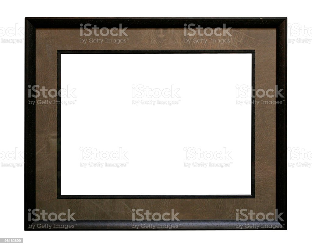 Professional looking frame to use in your design royalty-free stock photo