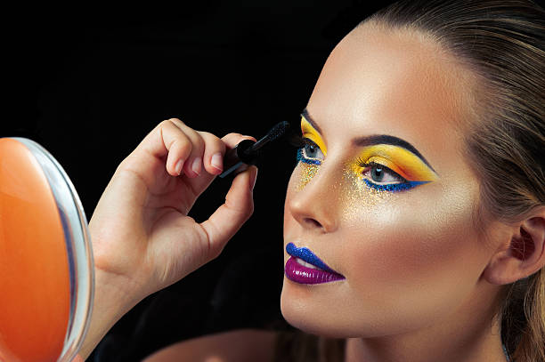 Professional Make up concept stock photo