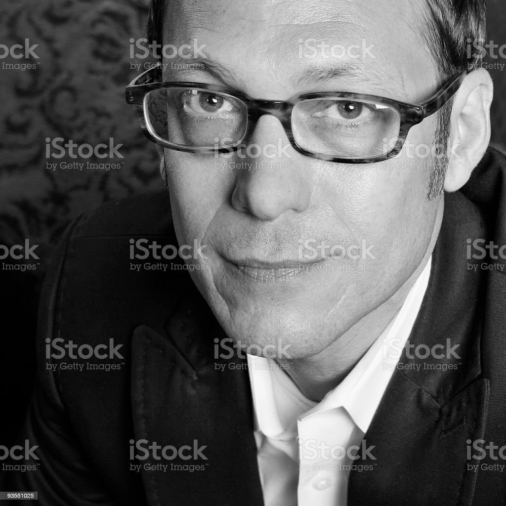 Professional Man - series royalty-free stock photo