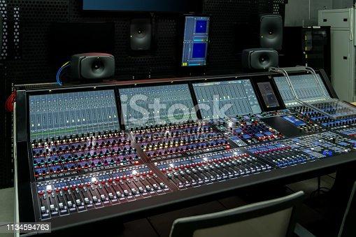 Professional mixer control mixer equipment