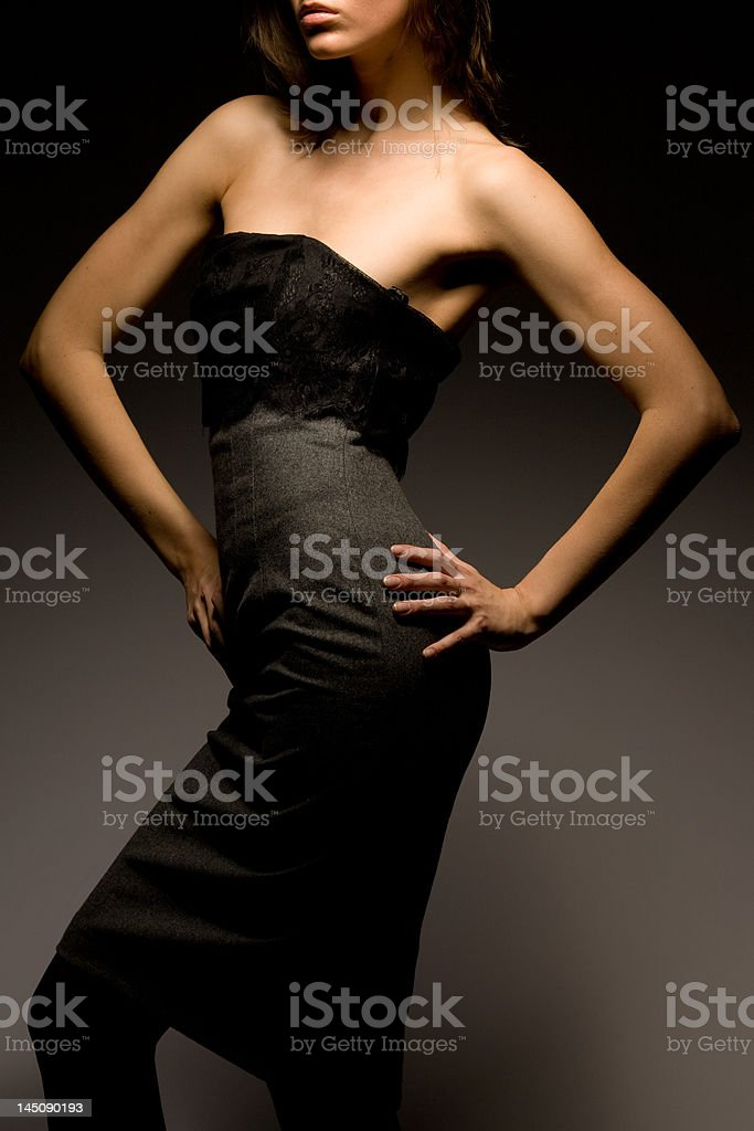 -Professional model- royalty-free stock photo