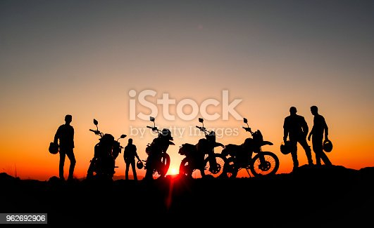 professional motorcyclist and reconnaissance tours