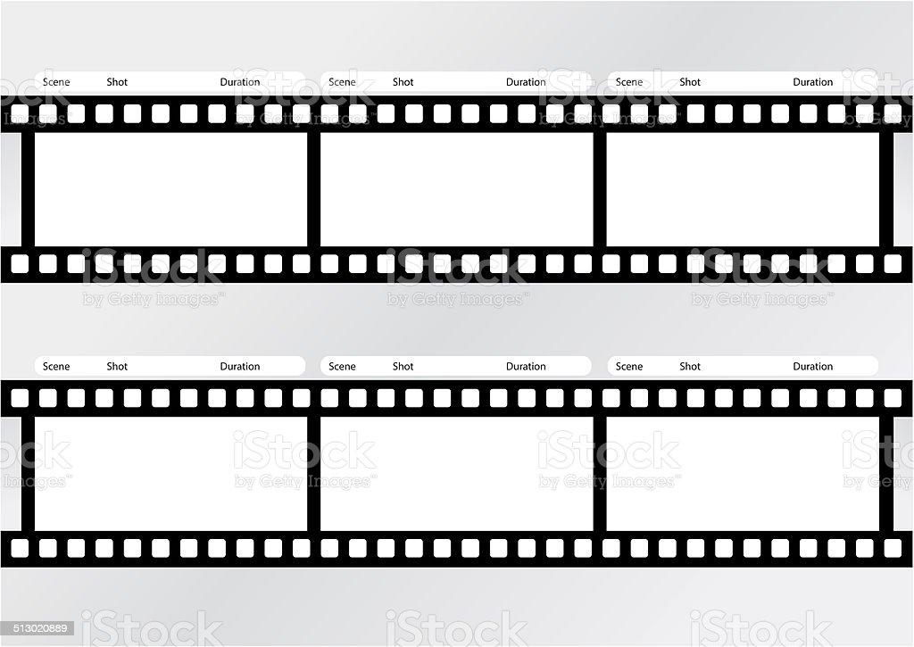 Professionelle Auf Storyboard Film Stripvorlage Stock-Fotografie und ...