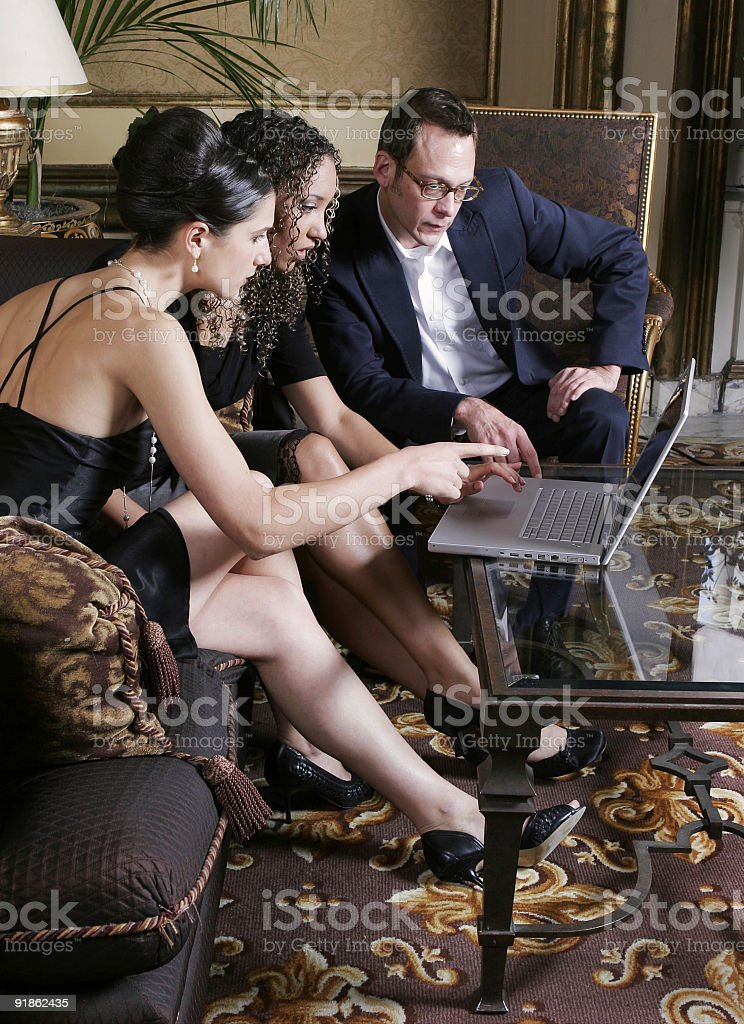 Professional people royalty-free stock photo