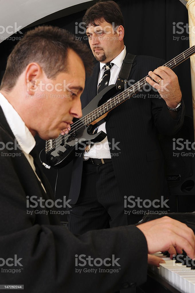 Professional performers royalty-free stock photo