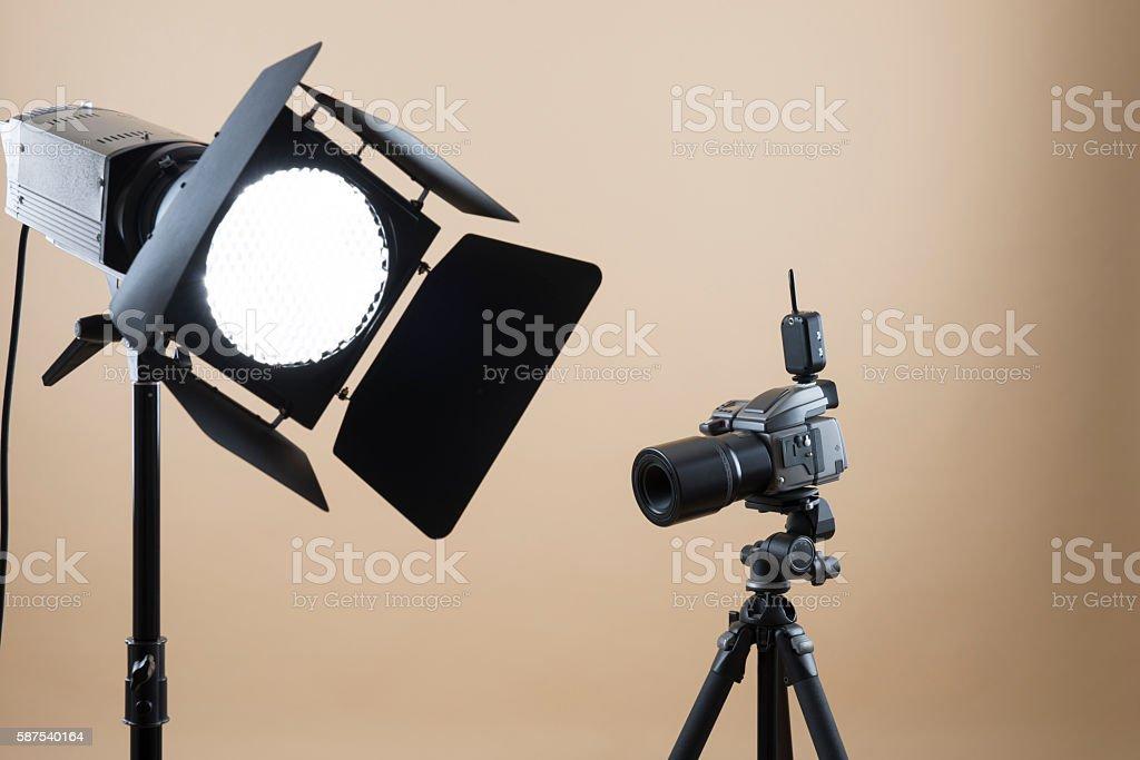 Professional Photo Studio stock photo