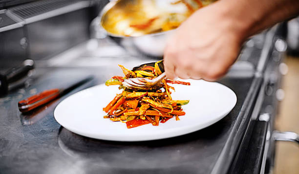 Best Plating Food Stock Photos, Pictures & Royalty-Free
