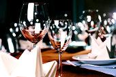 Professional restaurant serving