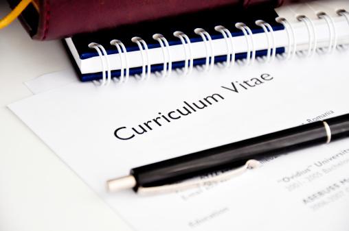 istock professional resume or curriculum vitae 185680008