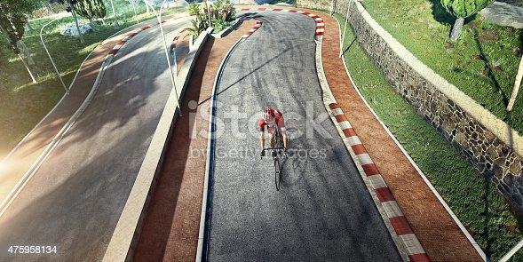 istock Professional road cyclist 475958134