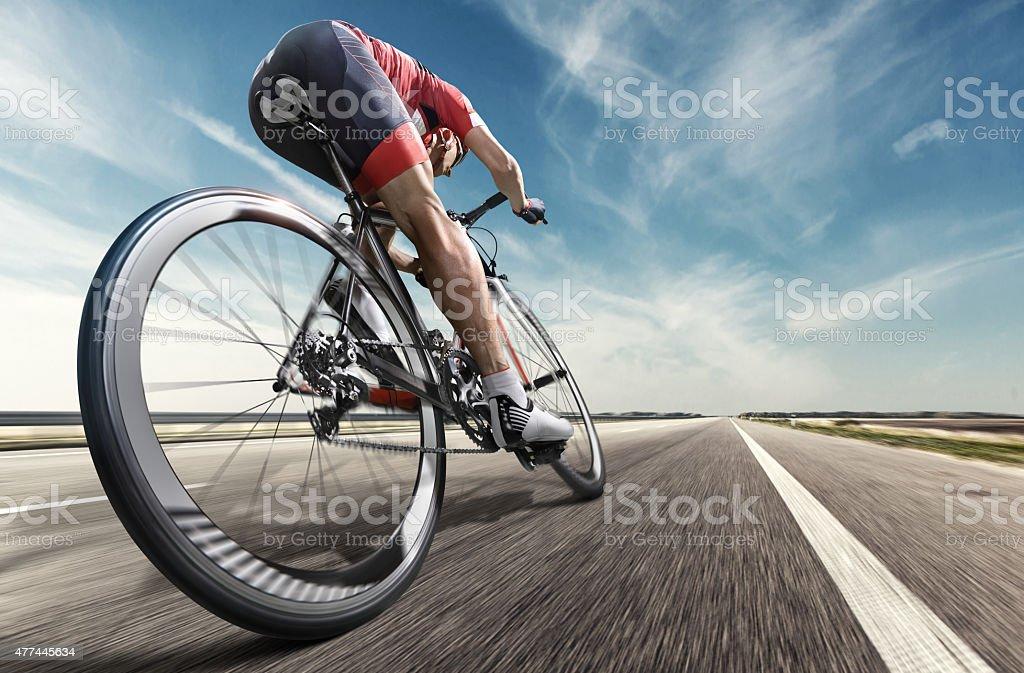 Professional ciclista - foto stock