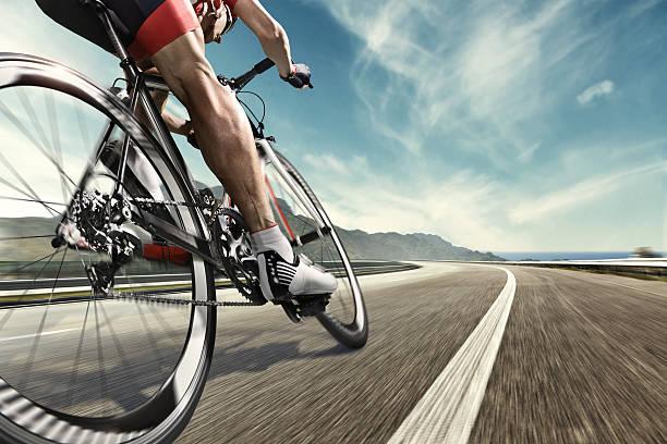 professional ciclista - ciclismo foto e immagini stock