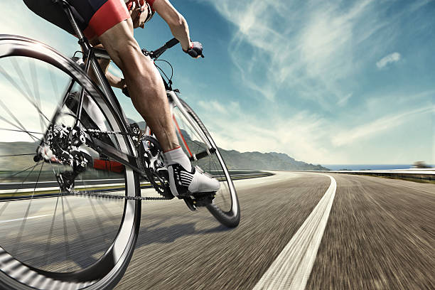 professional road cyclist - cycling stock photos and pictures