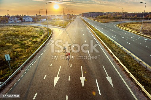 istock Professional road cyclists 477445598