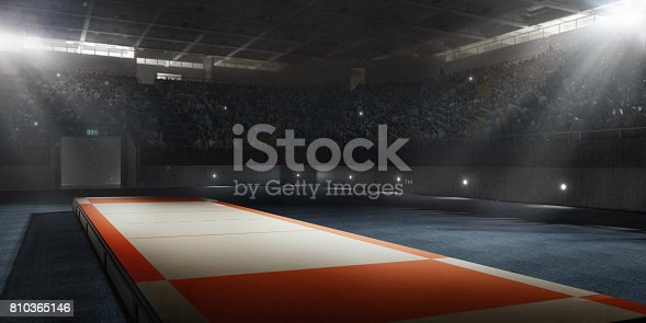 istock A 3D professional scene for fencing 810365146