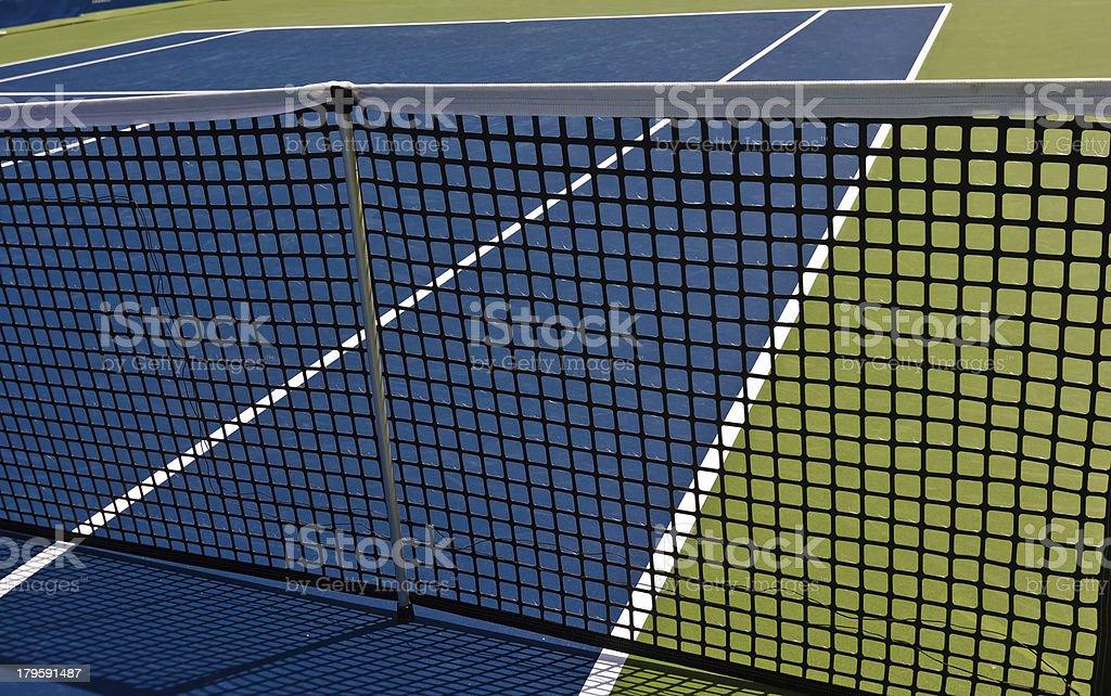 Professional Tennis Court royalty-free stock photo