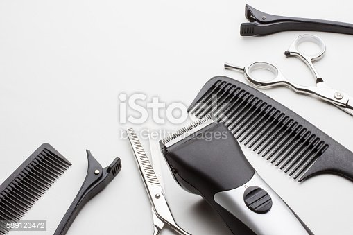 istock professional tools of hairdresser 589123472