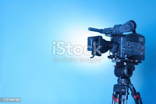 istock Professional TV CAM - 3 (cl. path) 172134753