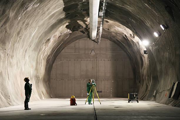 professional underground workers - geologi bildbanksfoton och bilder