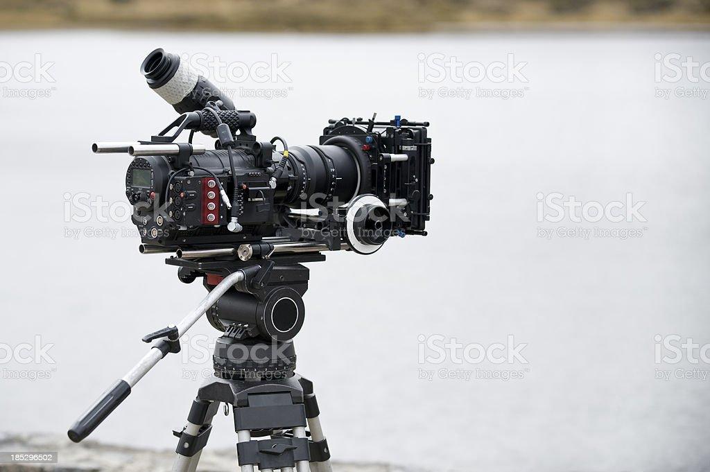 professional video camera royalty-free stock photo
