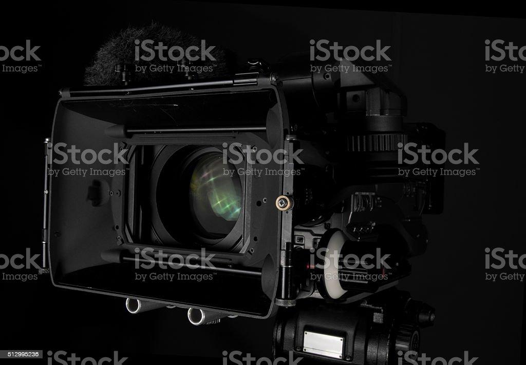 Professional Video Camera stock photo