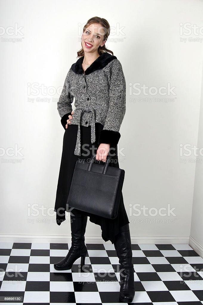 Professionelle Frau Lizenzfreies stock-foto