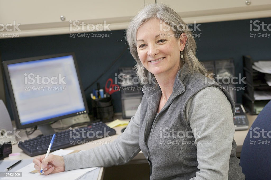 Professional Women Series royalty-free stock photo