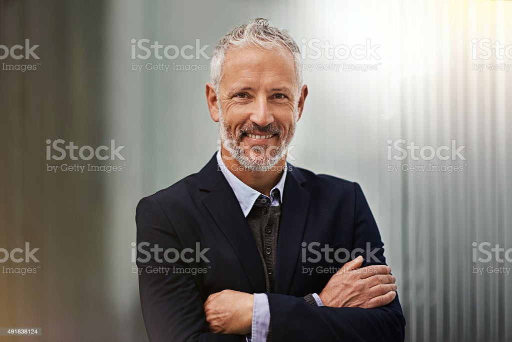 Professionalism personified stock photo