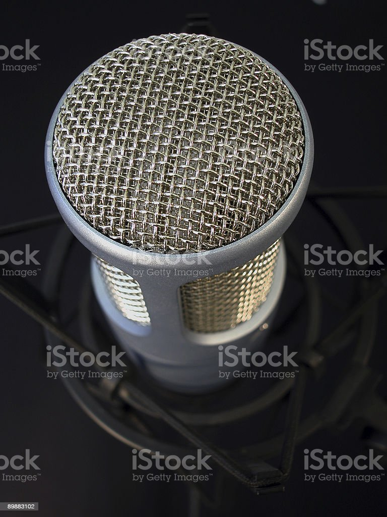ProfessionalMic-Close royalty-free stock photo