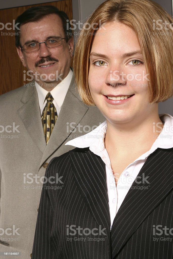 Professionals royalty-free stock photo
